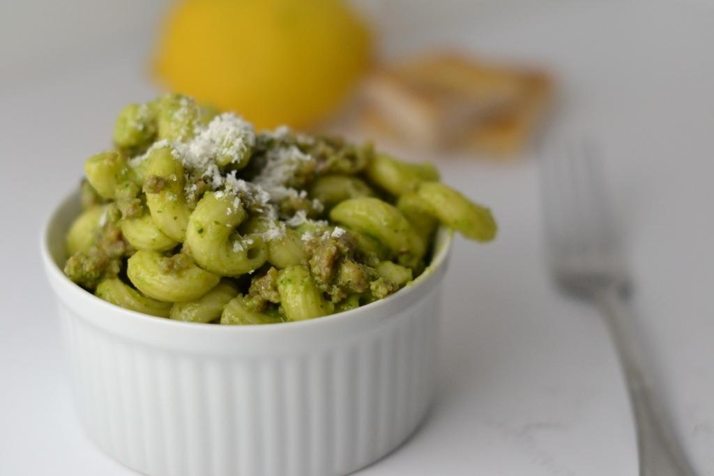 Parmesan Pesto Pasta_Food Fetish