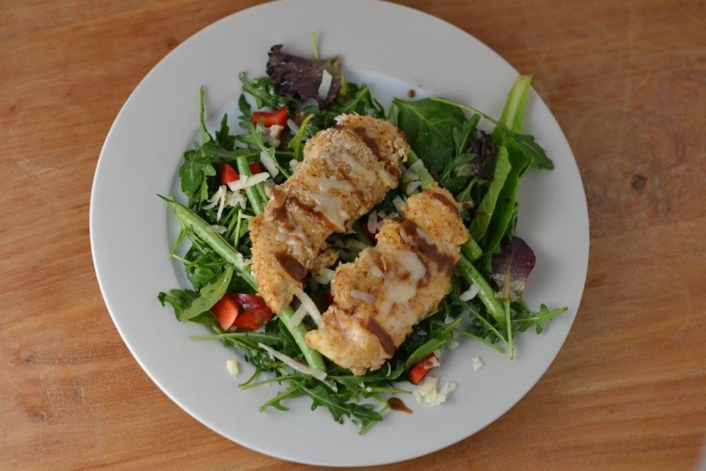 Fried Chicken Sunday Salad_Food Fetish