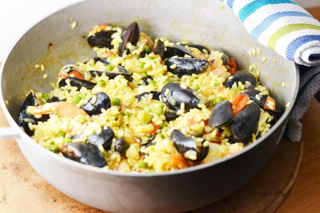 Spicy Seafood Paella_Food Fetish
