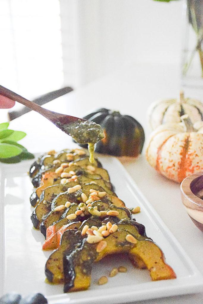 Acorn Squash with Fried Sage Pesto_Natalie Paramore