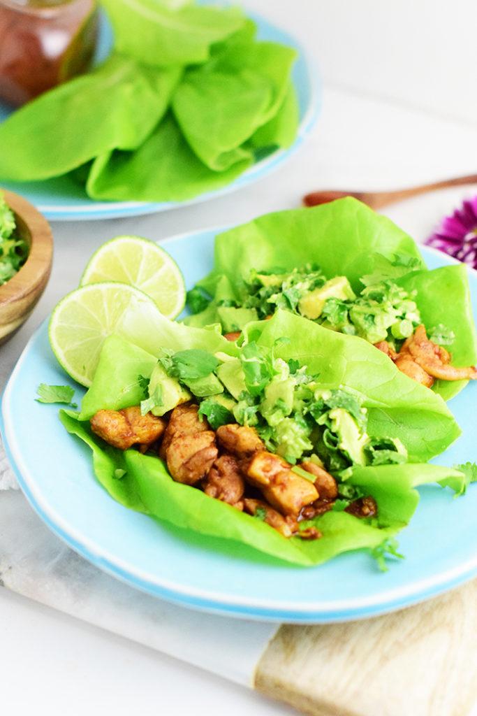 Asian Chicken Lettuce Wraps Recipe_Natalie Paramore