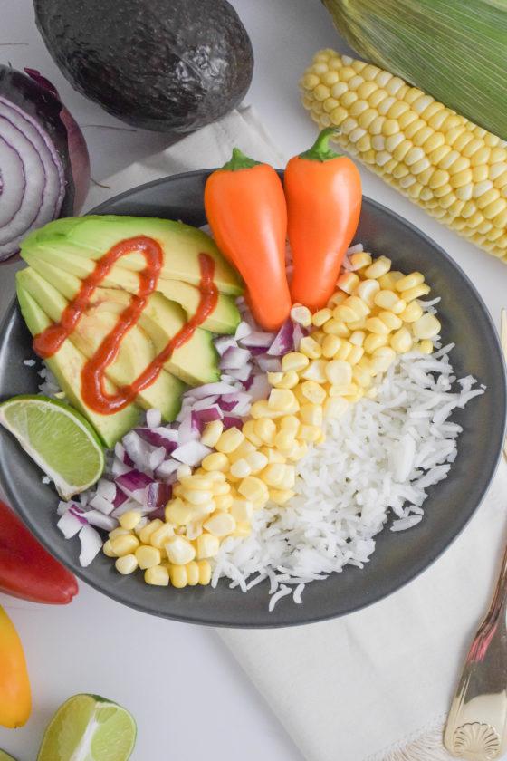 Tex-Mex Veggie Bowl