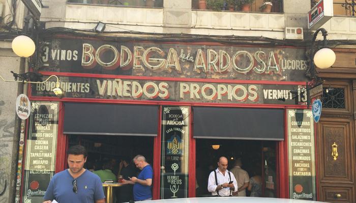 Bodega De La Ardosa Tapas Bar For Solomillo In Madrid Spain Natalie