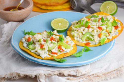 Caribbean Crab Tostadas_Natalie Paramore