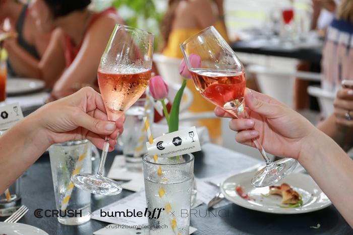 Crush bumble BFF Rose Cheers