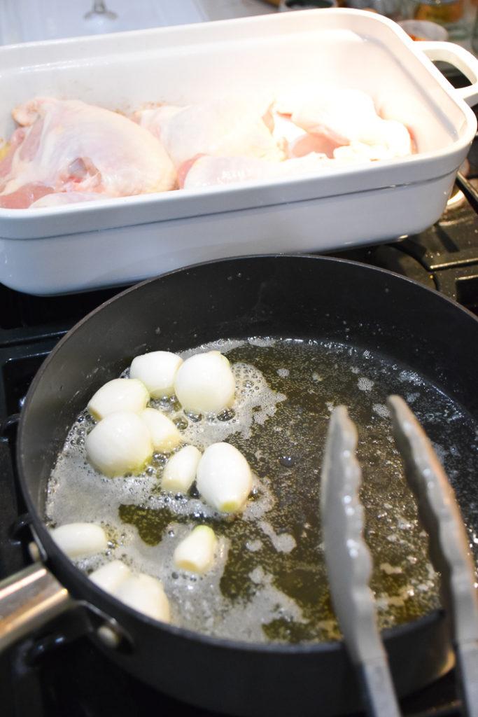 Julia Child's Coq Au Vin Recipe