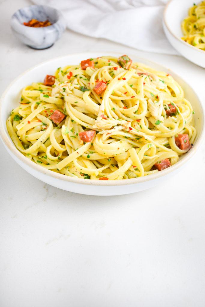 Chicken Pepperoni Pasta