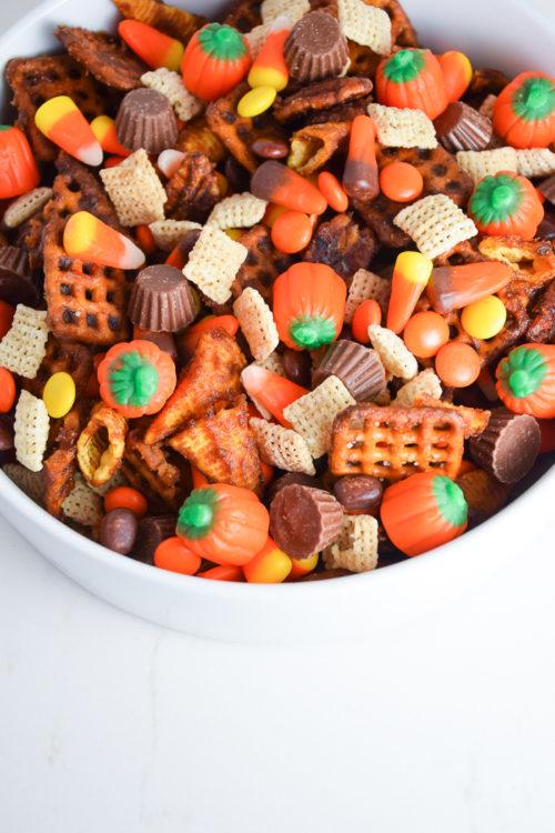 The Best Halloween Snack Mix