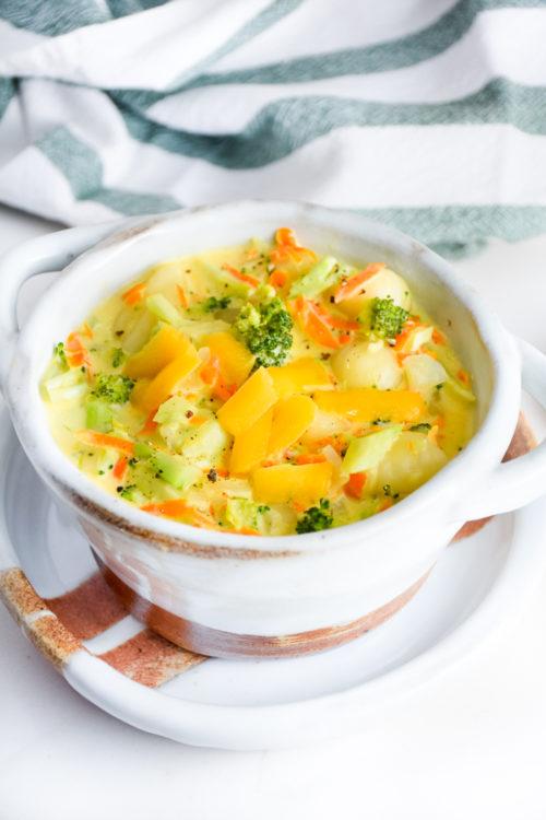 Souper Broccoli Cheese Gnocchi