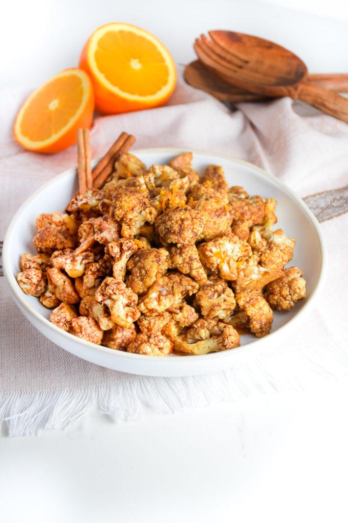 Cinnamon Spiced Cauliflower