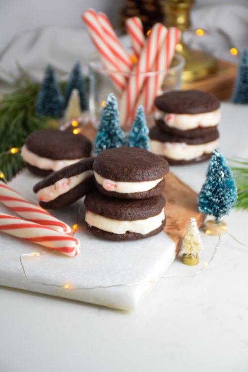 Dark Chocolate Créme de Candy Canes Recipe