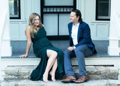 Engagement Photos at Mayfair Park Austin_Natalie Paramore
