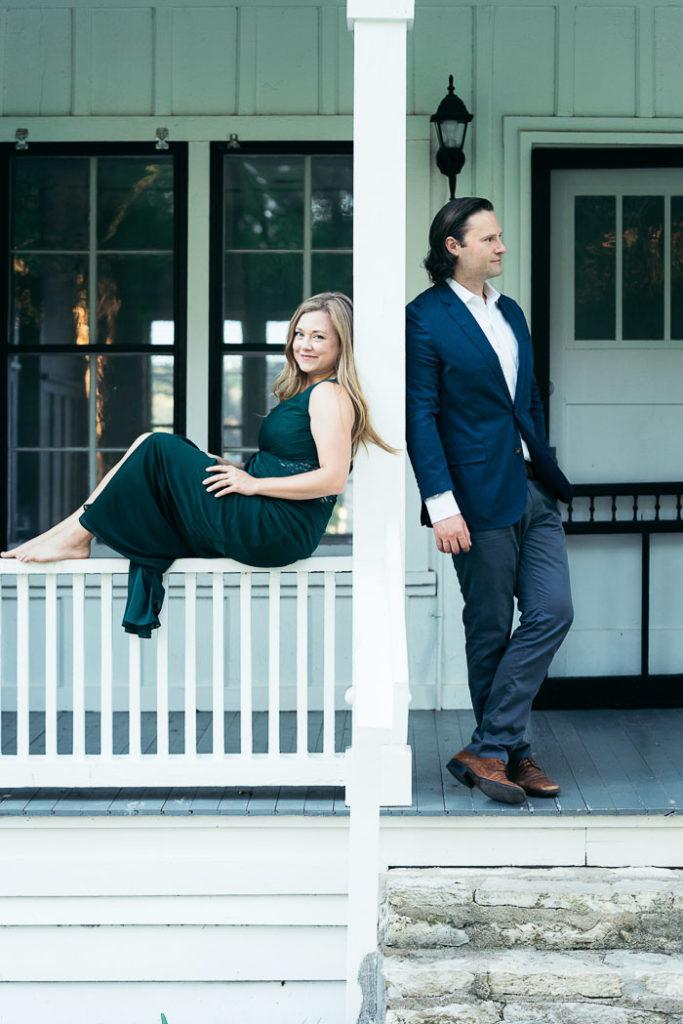 Engagement Photos at Mayfair Park_Natalie Paramore
