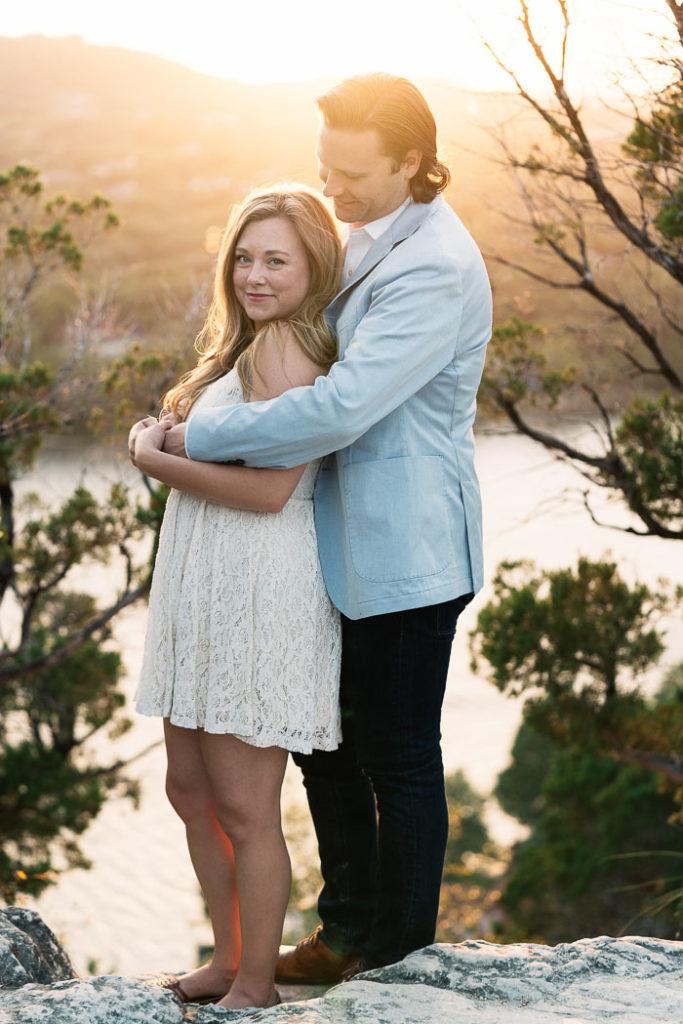 Engagement Photos at Mt Bonnell Austin_Natalie Paramore