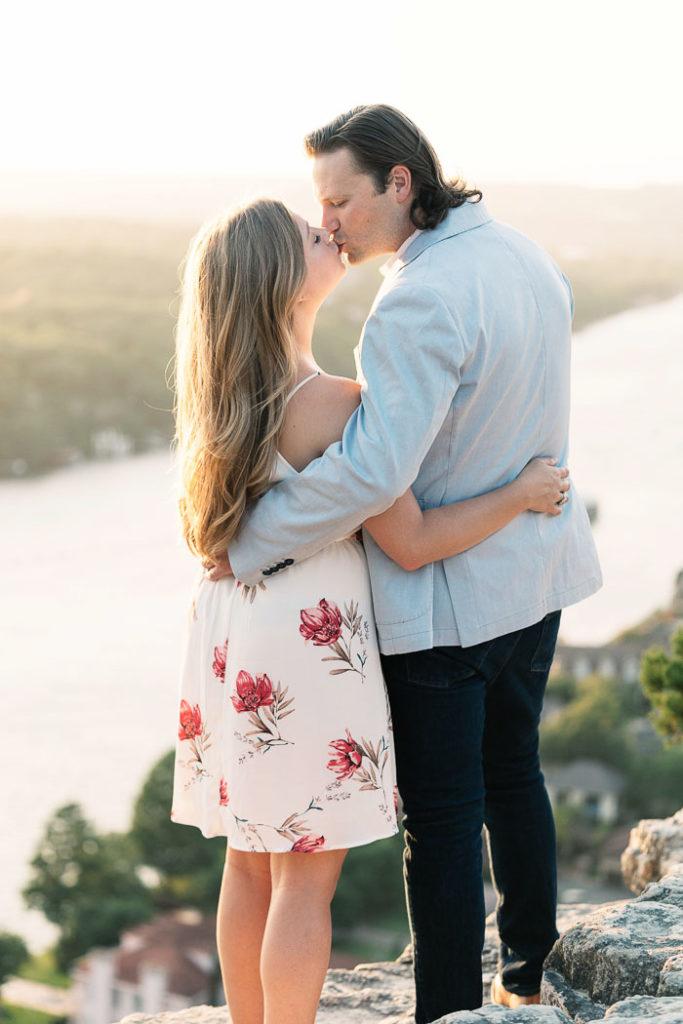 Engagement Photos at Mt Bonnell_Natalie Paramore