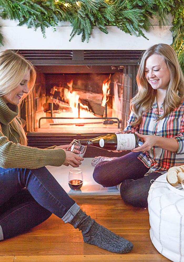 Fireside Picnic with Beaujolais Haloumi Crostini_Natalie Paramore