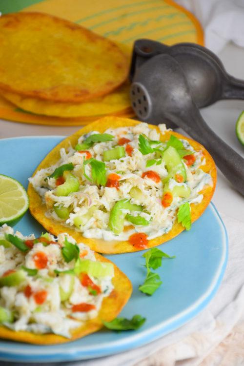 Fresh Caribbean Crab Tostadas_Natalie Paramore