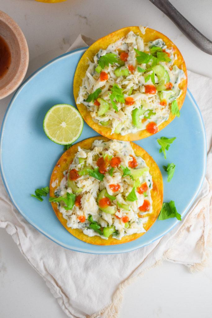 Fresh Crab Tostadas_Natalie Paramore