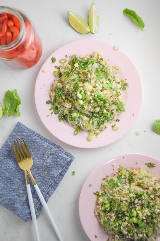 Glass Noodle Salad Laab Moo_Natalie Paramore