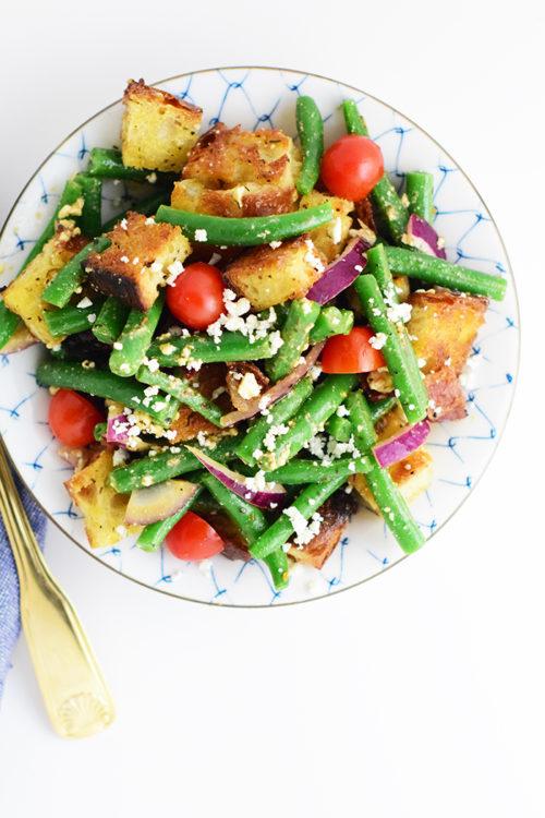 Green Bean Panzanella Salad Recipe_Natalie Paramore