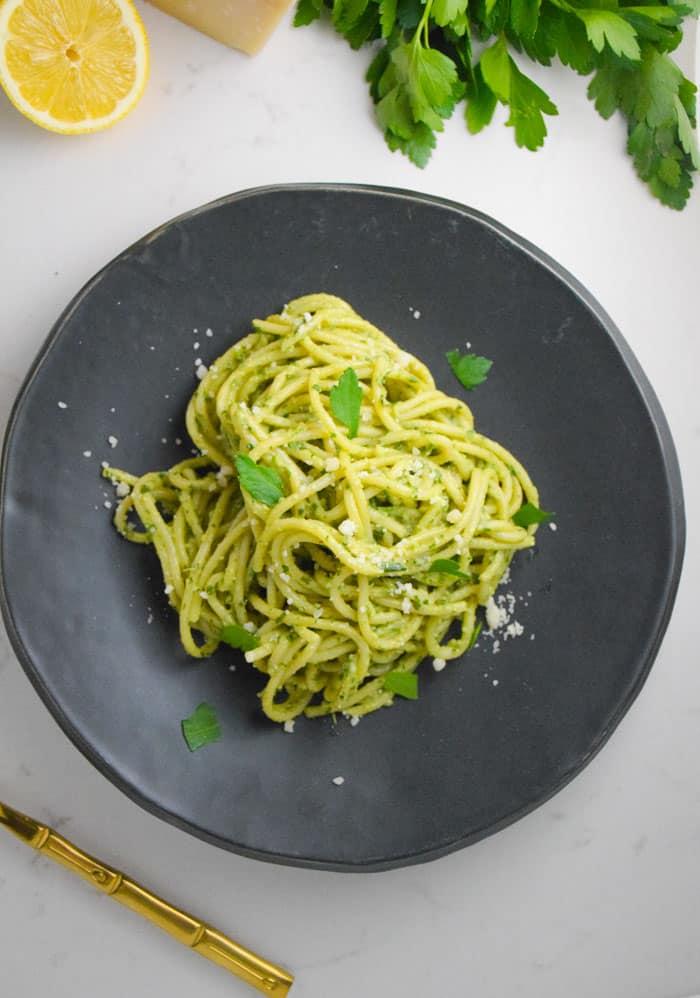 Green Pesto Pasta_Natalie Paramore
