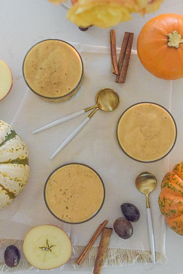Healthy Pumpkin Spice Smoothie Recipe_Natalie Paramore