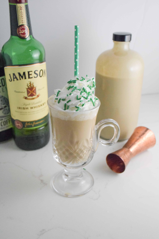 Homemade Irish Cream Natalie's Irish Coffee_Natalie Paramore
