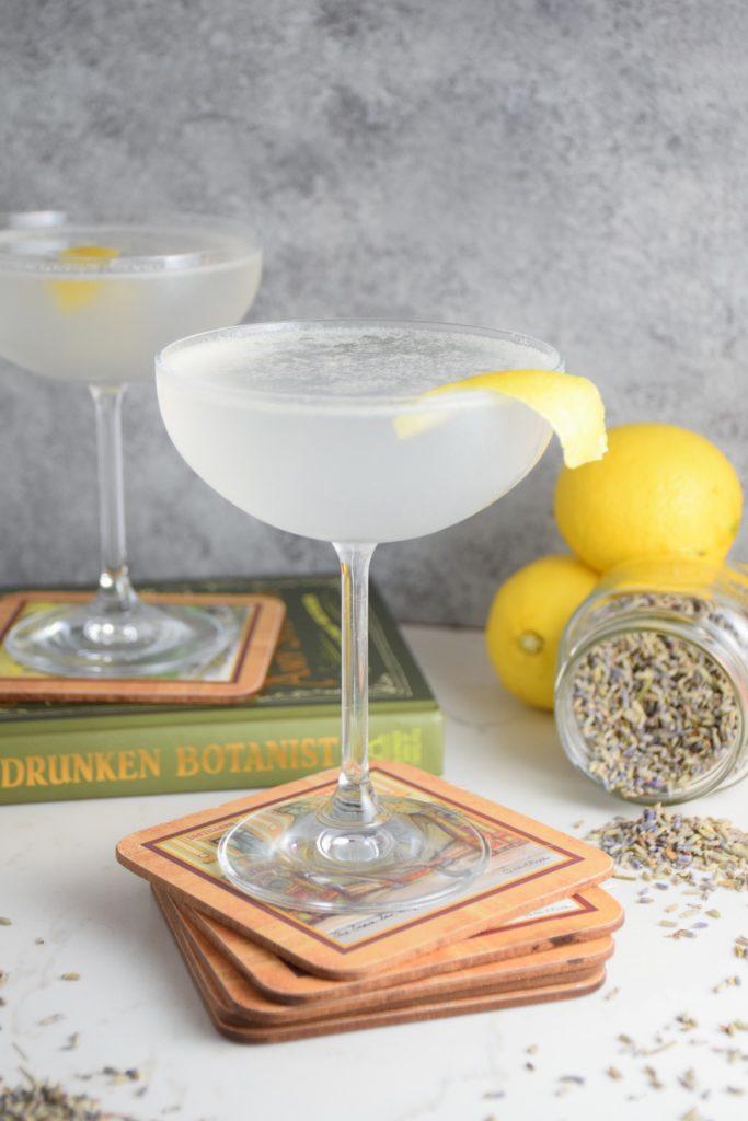 Lavender Lemon Gin Fizz