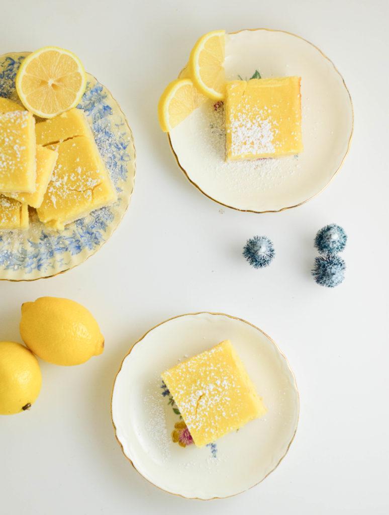 Old Fashioned Lemon Bars