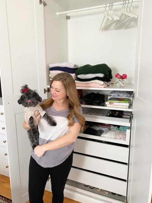 Master Closet Built Ins Completed IKEA Pax Closet Buildout_Natalie Paramore