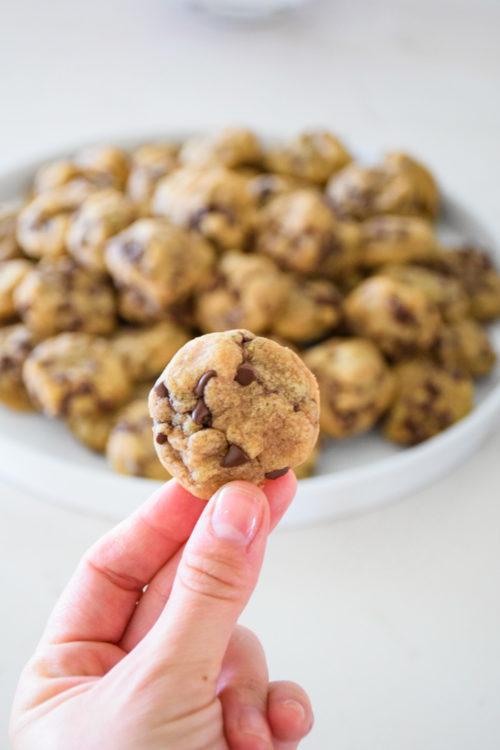 Mini Chocolate Chip Cookies_Natalie Paramore