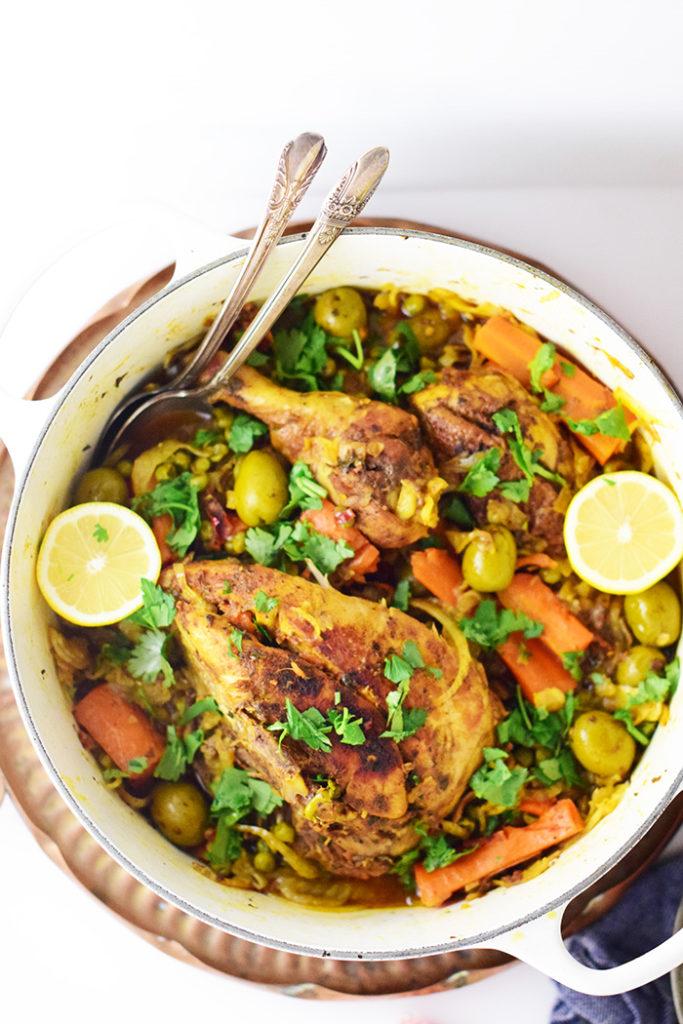 Moroccan Saffron Chicken by Natalie Paramore