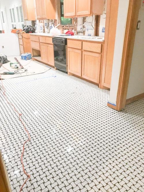 Our Home Renovation Part 2 Kitchen Tile