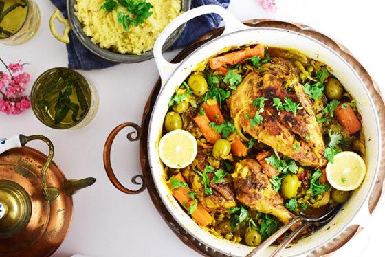 Saffron Chicken Tangine by Natalie Paramore