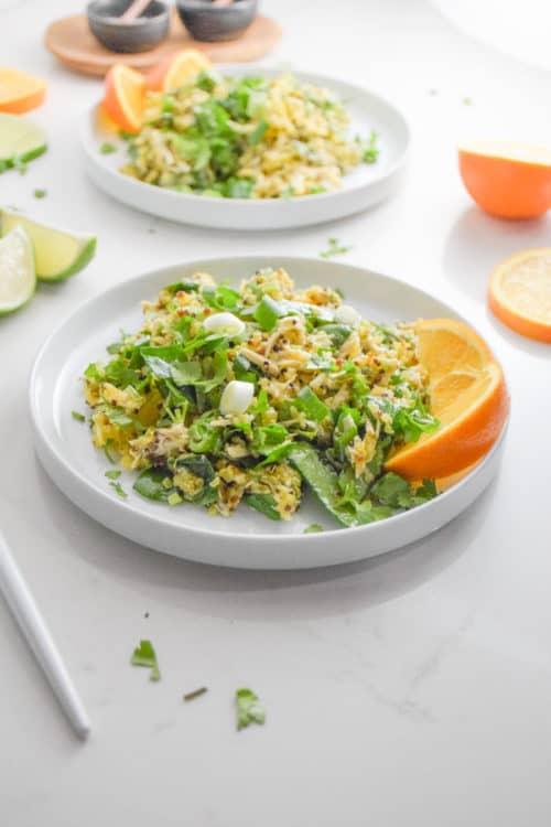 Turmeric Quinoa Citrus Salad Recipe_Natalie Paramore