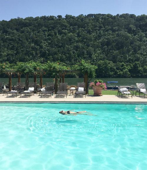 Water Meditation at Lake Austin Spa_Natalie Paramore