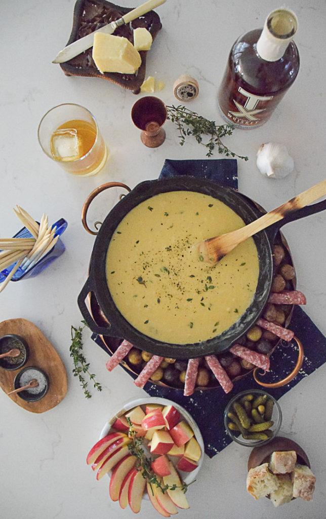 White Cheddar Cheese Fondue_Natalie Paramore