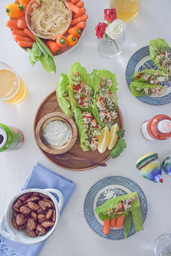 Yellowbird Spicy Jalapeno Thanksgiving Turkey Lettuce Wraps_Natalie Paramore
